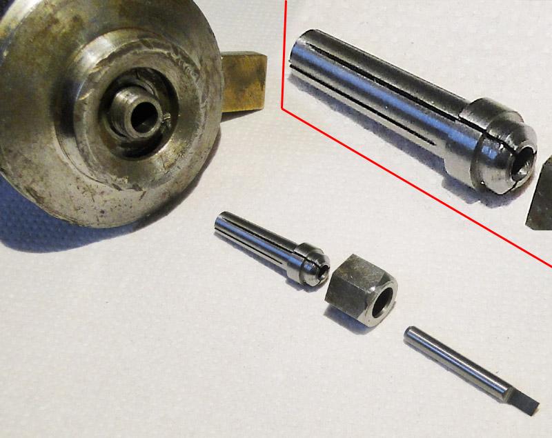 Spannzange D5mm  NEU für Deckel G1U oder G1L